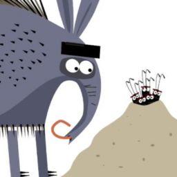 Муравей и муравьед