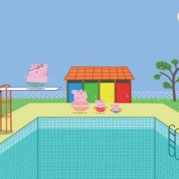 Свинка Пеппа. Прыжки в бассейн