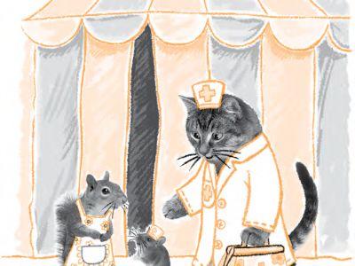 Отрывок из книги «Котёнок Уголёк»