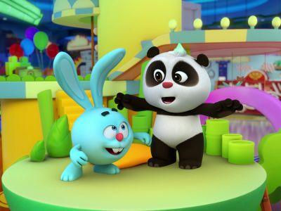 Мультсериал «Панда и Крош»