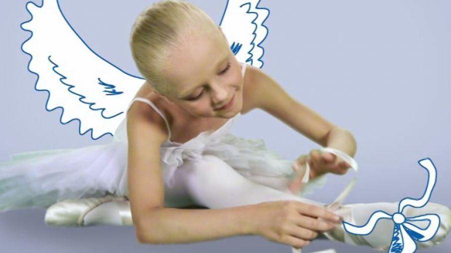 Межпрограммное оформление лето 2012. Балерина