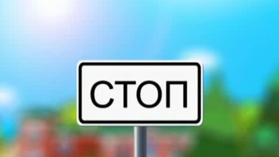 Знак «Стоп-линия»
