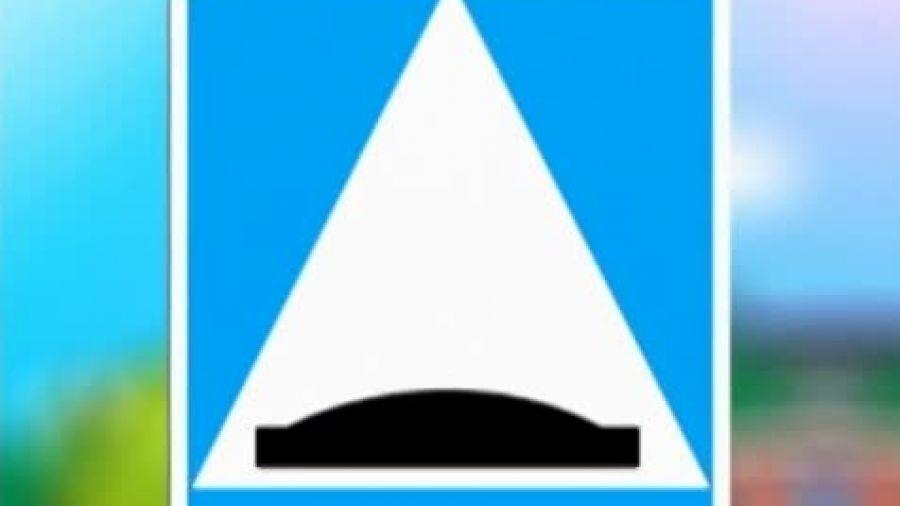 Знак «Искусственная неровность»