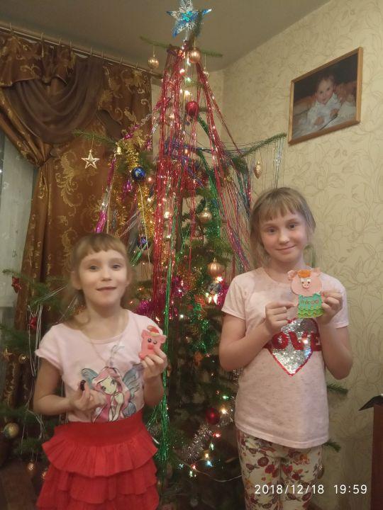 Ульяна и Полина Михайловны Шпеко