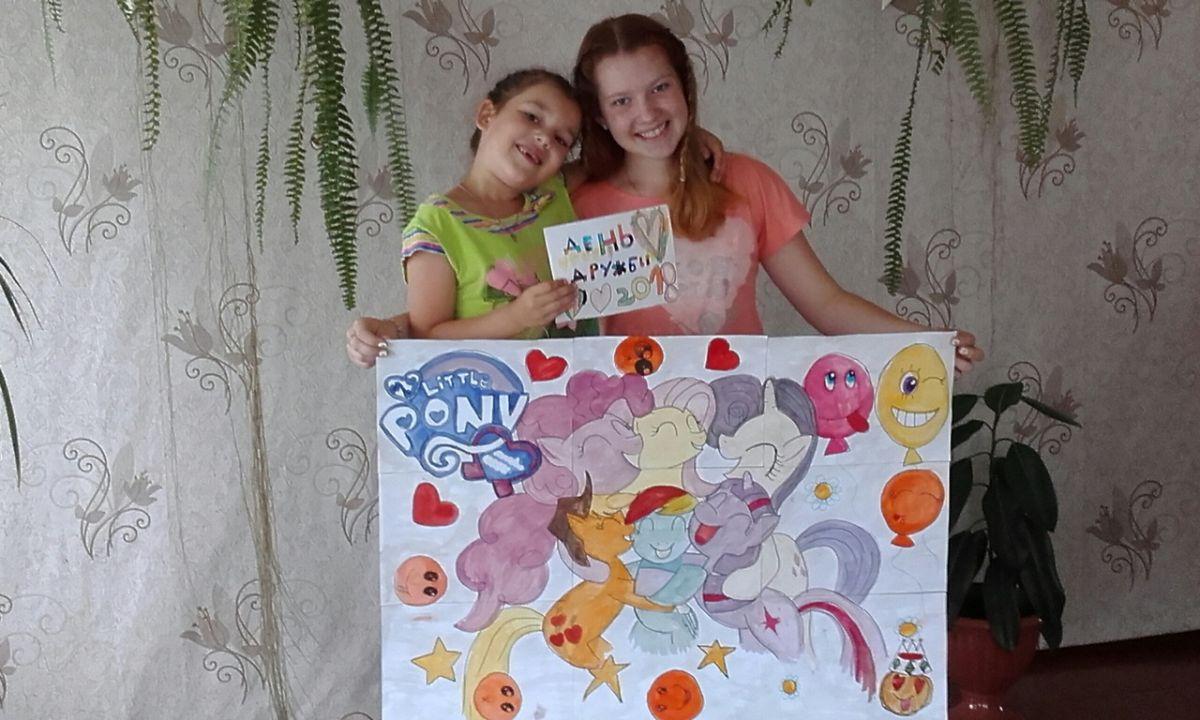 Морозова Полина и Степанова Ульяна