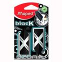 "Ластик Maped ""Pyramide"", цвет: черный, 2 шт"