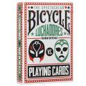"""Игральные карты Bicycle """"Luchadores"""", цвет: белый, красный, зеленый"""