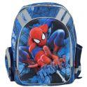"""Рюкзак школьный """"Spider-Man"""", цвет: темно-синий, голубой. SMCB-RT2-836E"""