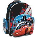 """Рюкзак школьный """"Cars"""", цвет: черный, голубой, красный. CRCB-MT1-9621"""