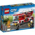 LEGO City Конструктор Пожарный автомобиль с лестницей 60107