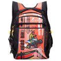 Grizzly Рюкзак детский Quad Bike цвет черный оранжевый