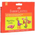 Faber-Castell Пластилин Neon Jumbo 6 цветов