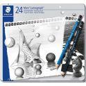Staedtler Набор чернографитовых карандашей Mars Lumograph 100 24 шт