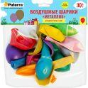 Воздушные шарики Paterra Металлик 30 см круглые 30 шт
