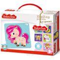 Baby Toys Пазл для малышей Зигзаг Для принцесс