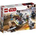 LEGO Star Wars Конструктор Боевой набор джедаев и клонов-пехотинцев