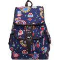 Рюкзак детский Совы цвет синий 2317552