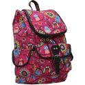 Рюкзак детский Совы цвет розовый 2317553