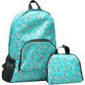 Рюкзак детский Птички цвет бирюзовый 2826145
