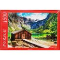 Рыжий Кот Пазл Германия озеро Оберзее