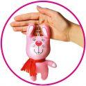 Штучки, к которым тянутся ручки Антистрессовая игрушка-брелок Звери в шарфах Зайчик