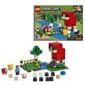 LEGO Minecraft 21153 Конструктор ЛЕГО Майнкрафт Шерстяная ферма