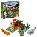 LEGO Minecraft 21162 Конструктор ЛЕГО Майнкрафт Приключения в тайге