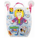 """ALEX 806M Набор фигурок-стикеров для ванны """"Одень куклу"""""""
