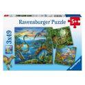 """Ravensburger R09317 Пазл """"Динозавры"""""""