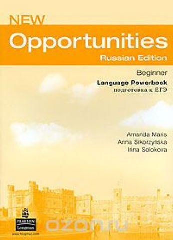 New Opportunities: Beginner: Language Powerbook