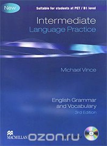 Intermediate Language Practice: Without Key: English Grammar and Vocabulary (+ CD-ROM)
