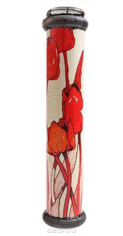"""Калейдоскоп """"Тюльпаны"""". Цветная печать, старение, металл, лак, зеркало, стекло, акрил, дерево. Ручная авторская работа"""