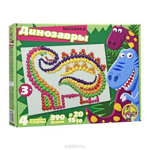 "Мозаика ""Динозавры"", 390 шт"