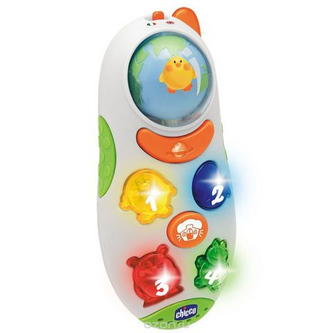 """Развивающая игрушка Chicco """"Говорящий телефон"""""""