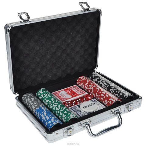 Набор для покера, размер: 30х21х8см. ГД5/200к