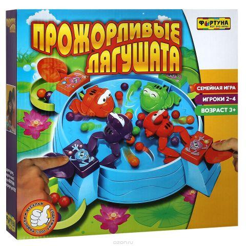 """Настольная игра """"Прожорливые лягушата"""""""