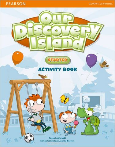 Our Discovery Island: Starter: Activity Book (+ CD-ROM)