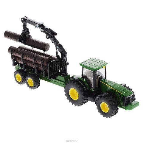Siku Трактор-лесовоз John Deere 8430