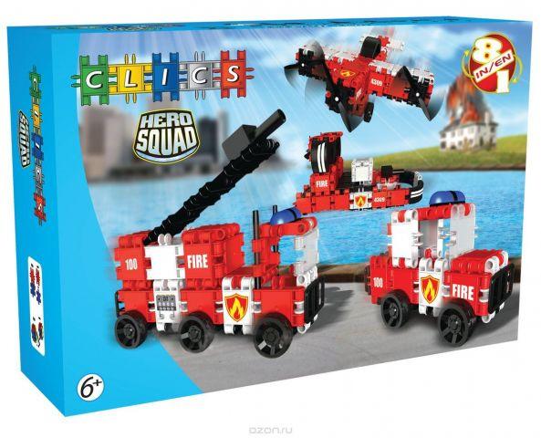 Clics Конструктор Пожарная команда BC002