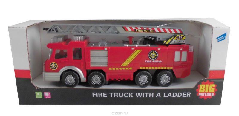 Big Motors Пожарная машина с лестницей
