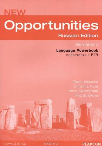 New Opportunities: Elementary: Language Powerbook