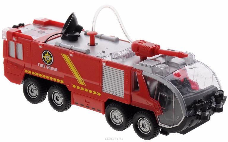 Big Motors Игрушка Пожарная машина с брандспойтом