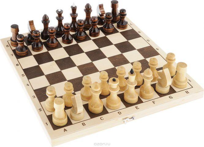 """Настольная игра """"Шахматы средние"""", размер: 38х145х290 мм"""