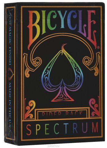 """Игральные карты Bicycle """"Spectrum Deck"""", цвет: мультиколор, 56 шт"""