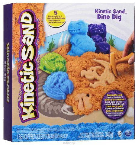 Kinetic Sand Кинетический песок с формочками Динозавры