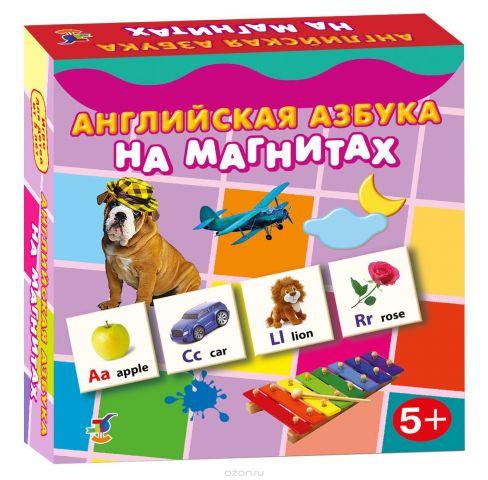 Дрофа-Медиа Обучающая игра Английская азбука на магнитах