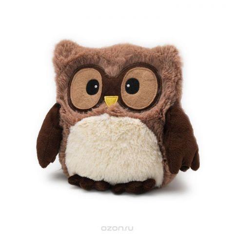 Warmies Мягкая игрушка-грелка Совенок цвет коричневый