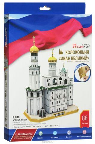 CubicFun 3D Пазл Колокольня Ивана Великого