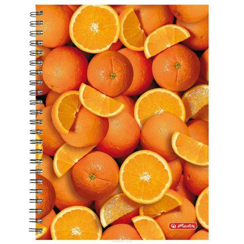 Herlitz Тетрадь Апельсины 70 листов в клетку формат А4
