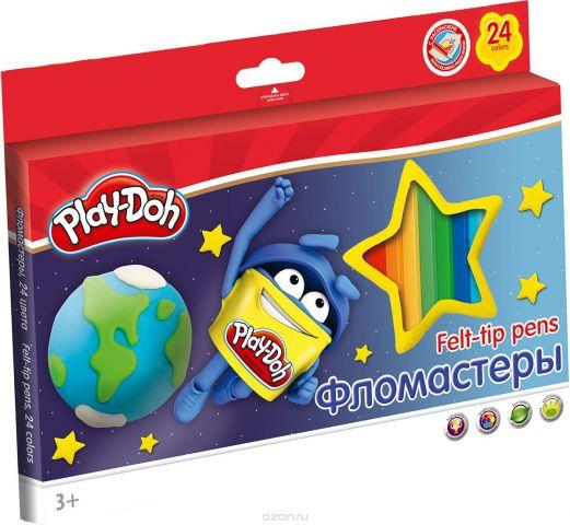 Play-Doh Набор фломастеров 24 цвета